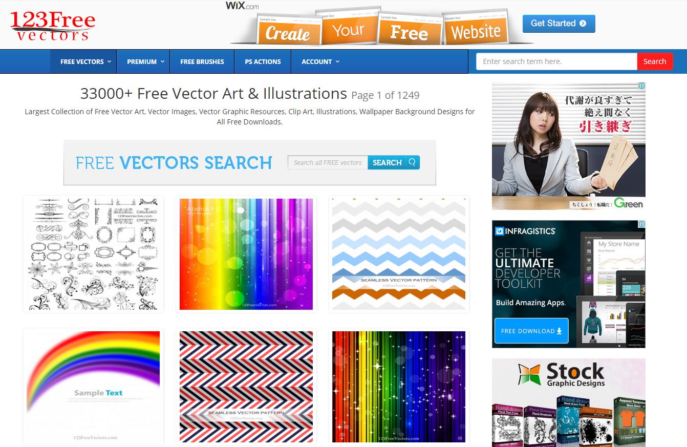Download Free Vector Graphics Vector Art Images 123FreeVectors